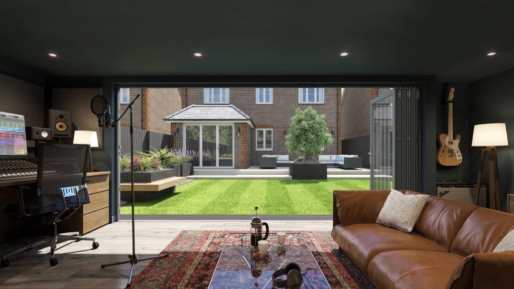 Garden Studio –Space for creativity